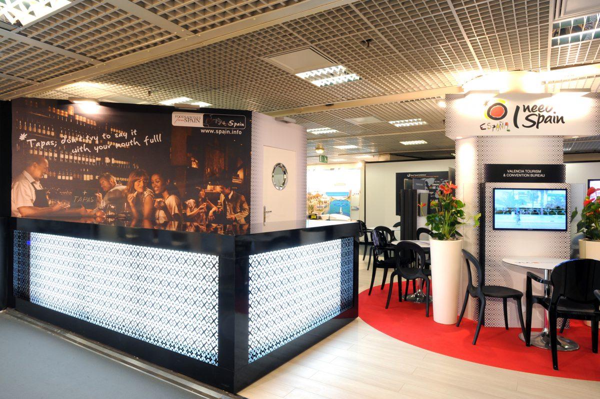 Office du tourisme d 39 espagne au salon iltm 2014 avec 79 agency - Office de tourisme espagne ...
